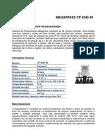 Ficha Técnica CP-8240 4S