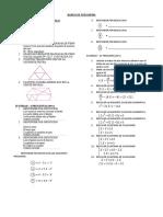 banco de preguntas para secundaria área matemática razonamiento