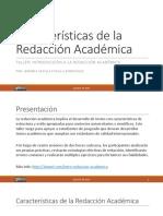 2-caractersticasdelaredaccinacadmica-170802183724