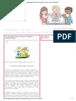 4 - Os Desenhos das Crianças - Análise e Interpretação