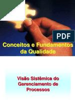 SLIDES - CONCEITOS E FUNADAMENTOS DA QUALIDADE