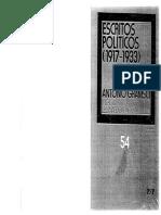 Gramsci Antonio - Escritos Politicos 1917 - 1933.PDF
