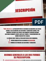 LA PRESCRIPCIÓN.pptx