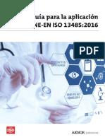 Extracto Libro UNE en ISO 13485