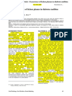 3.Tahrir N. Aldelaimi Article Occurrence of Lichen Planus in Diabetes Mellitus