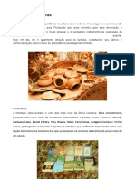 A cultura de cabo Verde