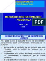 C4-Mercados Con Informaión Asimétrica