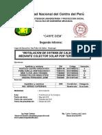 Segundor Informe. de Proyeccion Final