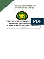 Estructura Del Bosque Juntado