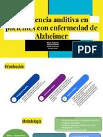 Negligencia Auditiva en Pacientes Con Enfermedad de Alzheimer (1)