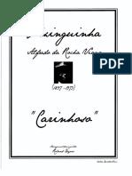 Carinhoso-Pixinguinha by Roland Dyens TAB