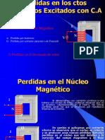 Tema 1.5 Perdidas en Los Ctos Magneticos Excitados Con CA....