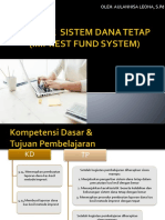 Metode Sistem Dana Tetap (Imprest Fund System