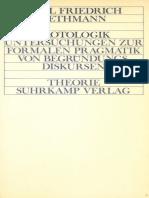 C. F. Gethmann - Protologik