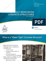 5_Water-Tight Reinforced Concrete Structures