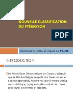 Nouvelle Classification Du Ptérygion