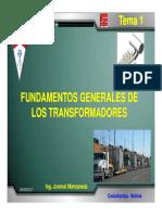 Tema 1 Fundamentos Generales F