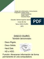 Disco duro y GPS