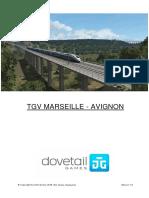 Marseille to Avignon Manual RU