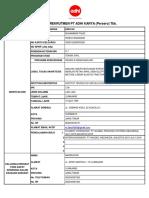 Application Form Adhi Karya