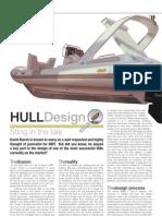 RIB Hull Design