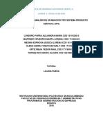 Analisis de Un Modelo de Negocio Tipo Sps Avance 1