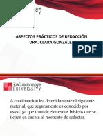 Aspectos Prácticos de Redacción (1)