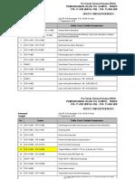 Check List of Defect & Deficiencies