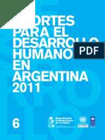 El Sistema de Salud Argentino Pnud Ops Cepal 20111