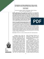 Modernisasi Sistem Administrasi Perpajakan Dan Tingkat Kepatuhan Pengusaha Kena Pajak
