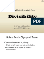 5 - Divisibility