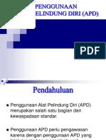 Penggunaan Apd