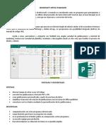 Trabajo de Computacion - Programas de Ofimatica