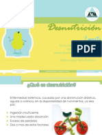 DESNUTRICIÓN PROTÉICO ENERGÉTICA