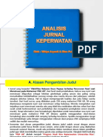 ANALISIS JURNAL KEPRAWANAN