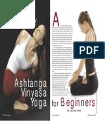 Trishtana in Ashtanga Vinyasa Yoga by Caroline Klebl