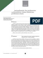 Texto2 Eixo2. Profissionalizao Dos Professores Universitrios- Razes Histric