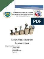 Aministración Salarial I Texto