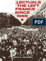 keith Reader,  Intellectuals and the left in France since 1968
