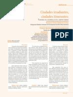Dialnet-CiudadesIrradiantesCiudadesItinerantesTensionesDel-5001852