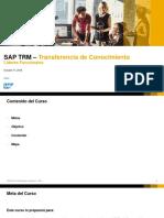 SAP TRM KT Funcional Oct2018