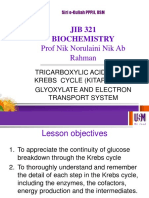 Krebs Cycle, Glyoxylate and Electron Transport System 2017