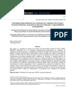 Estratégias Empreendedoras Em Associacoes de Condutores Dos ParquesNacionais Piauienses Propostas de Educacao Ambiental Eresponsabilidadesocioambiental.