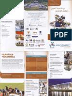 Foundation Programmes