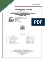 Contoh Penyusunan LRK KKN 2015