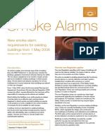 AS Std Smoke Alarms Notes