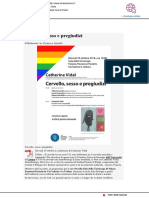 Cervello, sesso e pregiudizi - Il Mascalzone.it, 22 ottobre 2018