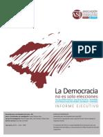 Informe Ejecutivo%3A La Democracia No Es Solo Elecciones