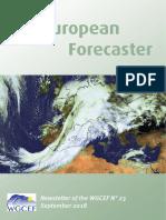 Euroforecaster  2017 Newsletter