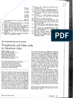 Bieri Tocopherols and Fatty Acids in American Diet 313a 1973
